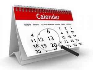 Magnified Calendar