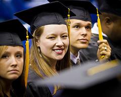 sad graduate photo